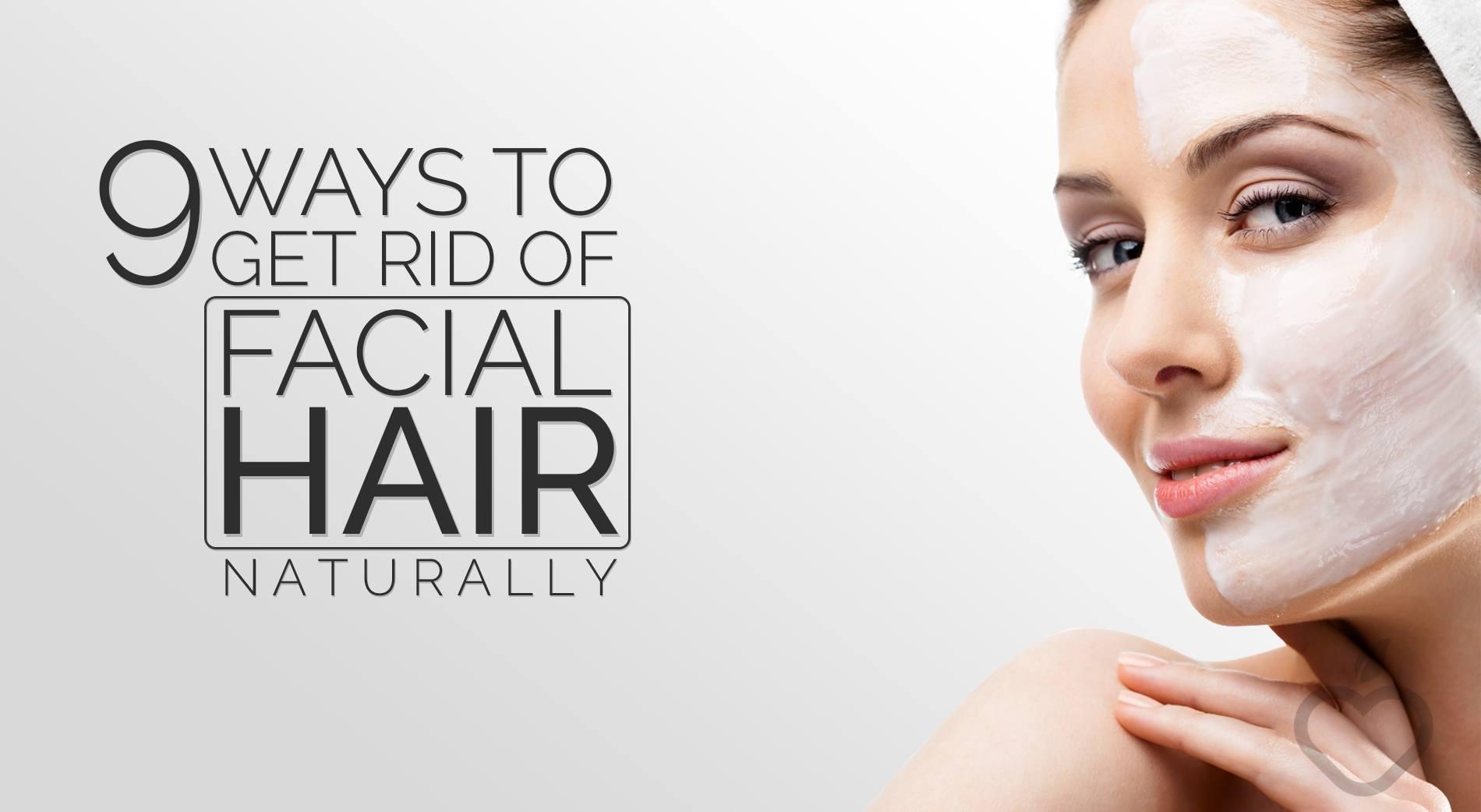 getting rid of facial hair