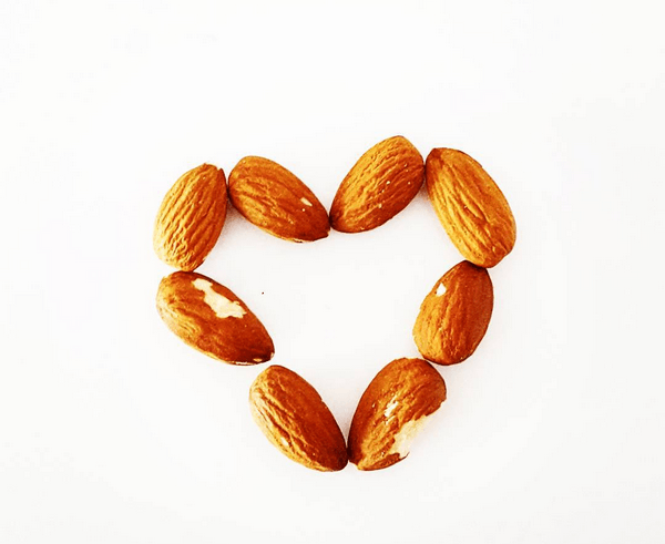 almond heart - Everything You Need To Know About Almonds for Weight Loss