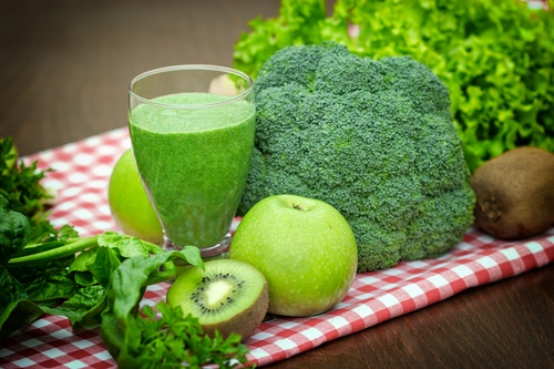 Green vegetables for smoothies