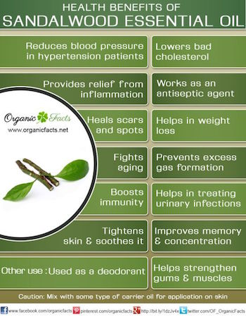 Sandal Wood Essential Oil Benefits