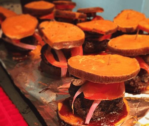 Sweet Potato Sliders