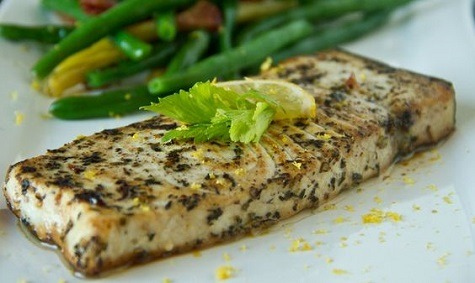 Pan Fried Swordfish