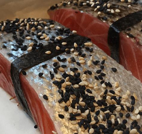 Sesame Salmon Stir Fry