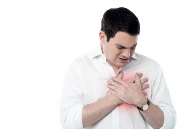 Very painful chest pain attack