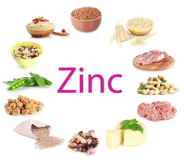 zinc rich food