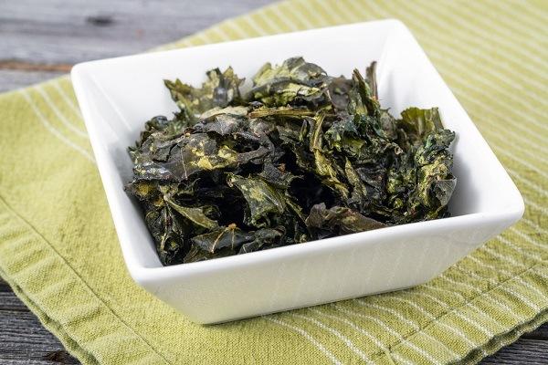 kale chips snack