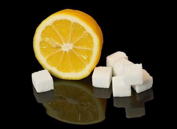 lemon and salt