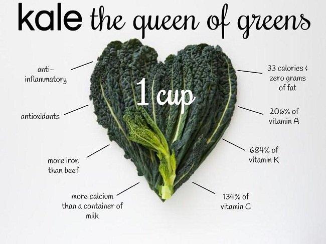 Image 2 7 - 6 Nutritional Benefits Of Drinking Kale Juice