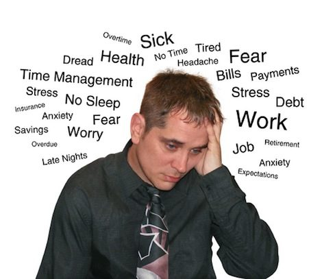 Stress - cause of yawning