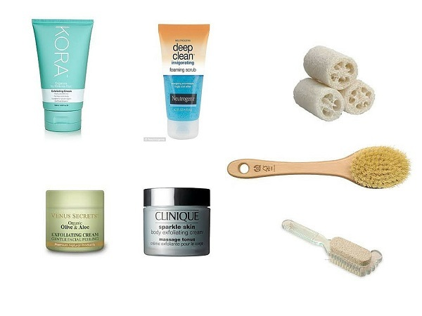 Body exfoliating products