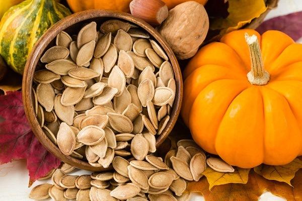 Healthy Toasted Pumpkin Seeds