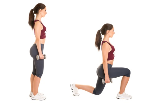 How To Do An Effective Lunge Workout At Home (Step By Step ...