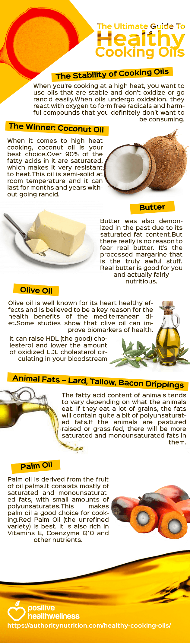The Ultimate Guide To Healthy Cooking Oils
