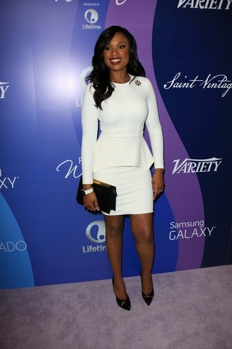at Varoety's 5th Annual Power of Women, Beverly Wilshire, Beverly Hills, CA 10-04-13