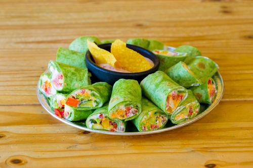 Gluten-Free Vegetarian Veggie Wraps
