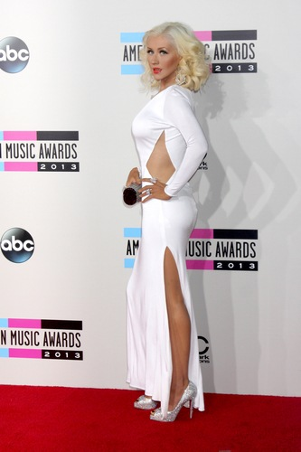 USA -2013 American Music Awards Arrivals - Los Angeles