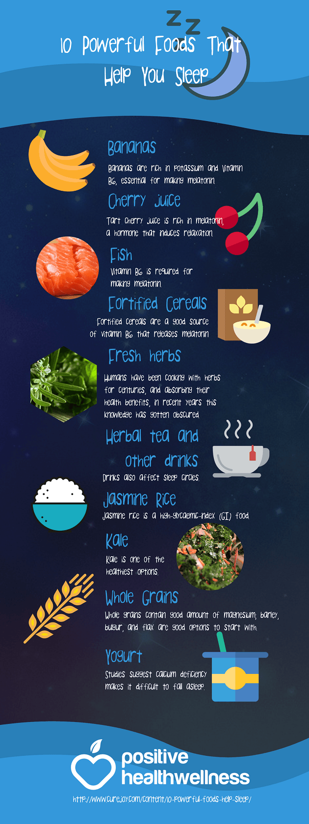 10 Powerful Foods That Help You Sleep