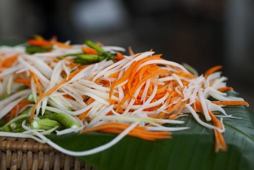Ingredient of Papaya salad
