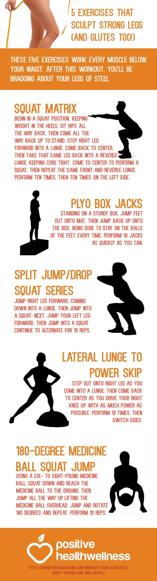 5 Exercises That Sculpt Strong Legs (and Glutes Too!)