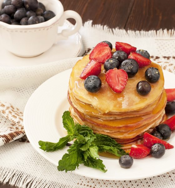 15 Healthy Protein Pancakes with Fruits