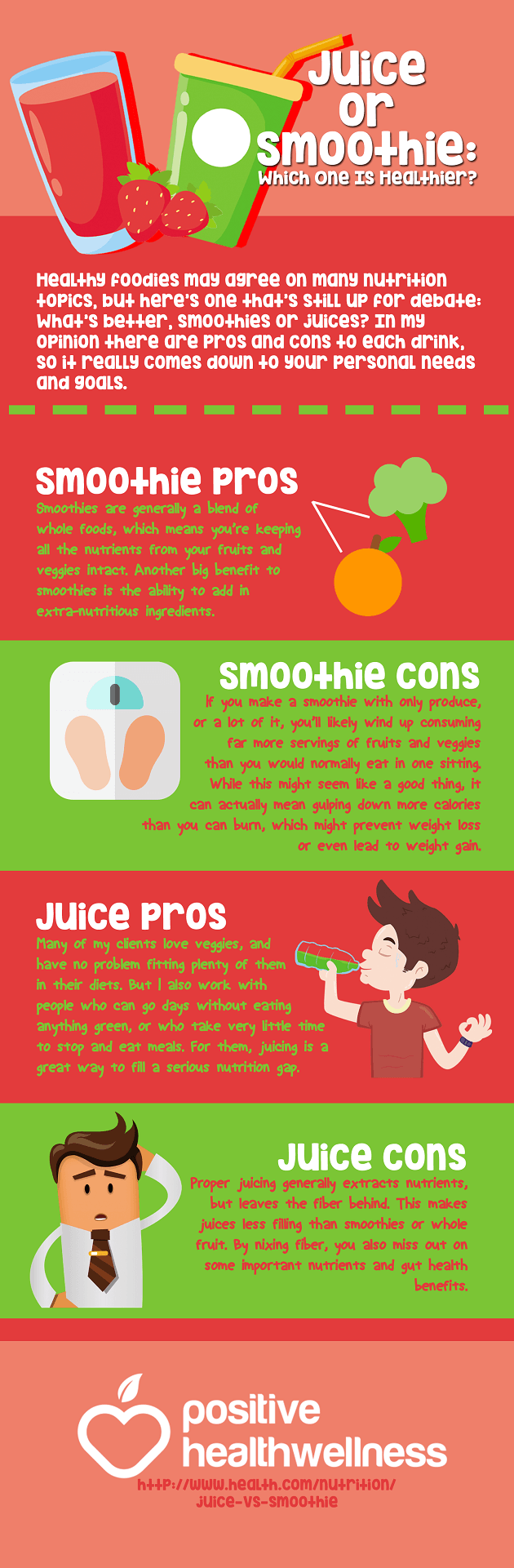 Juice or Smoothie: Which One Is Healthier?