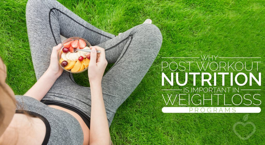 Post Workout Nutrition Image Design 1 1024x562 - Why Post Workout Nutrition is Important in Weight Loss Programs