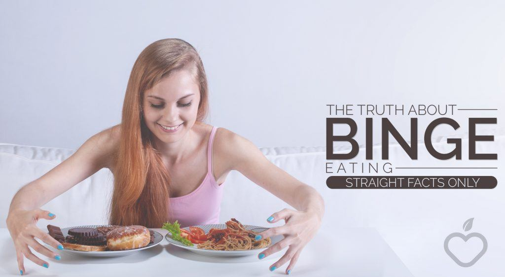 Binge Eating Image Design 1 1024x562 - The Truth About Binge Eating: Straight Facts Only