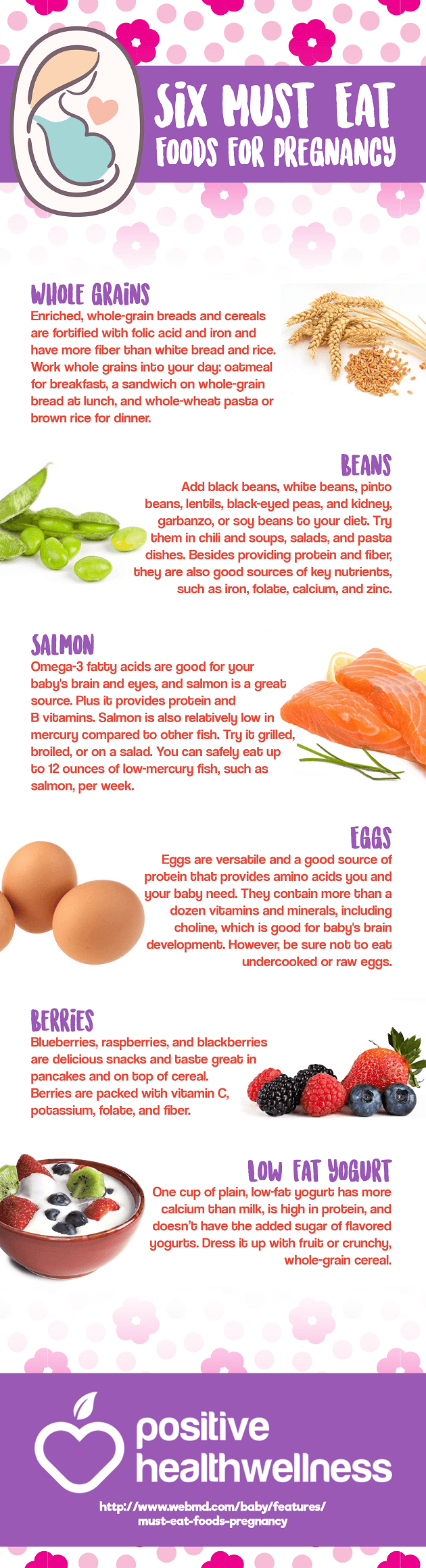 6 Must-Eat Foods for Pregnancy