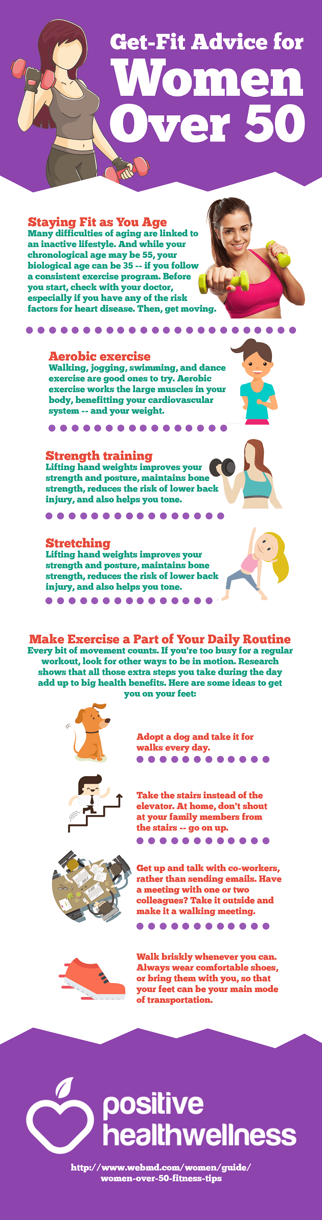 Get-Fit Advice for Women Over 50
