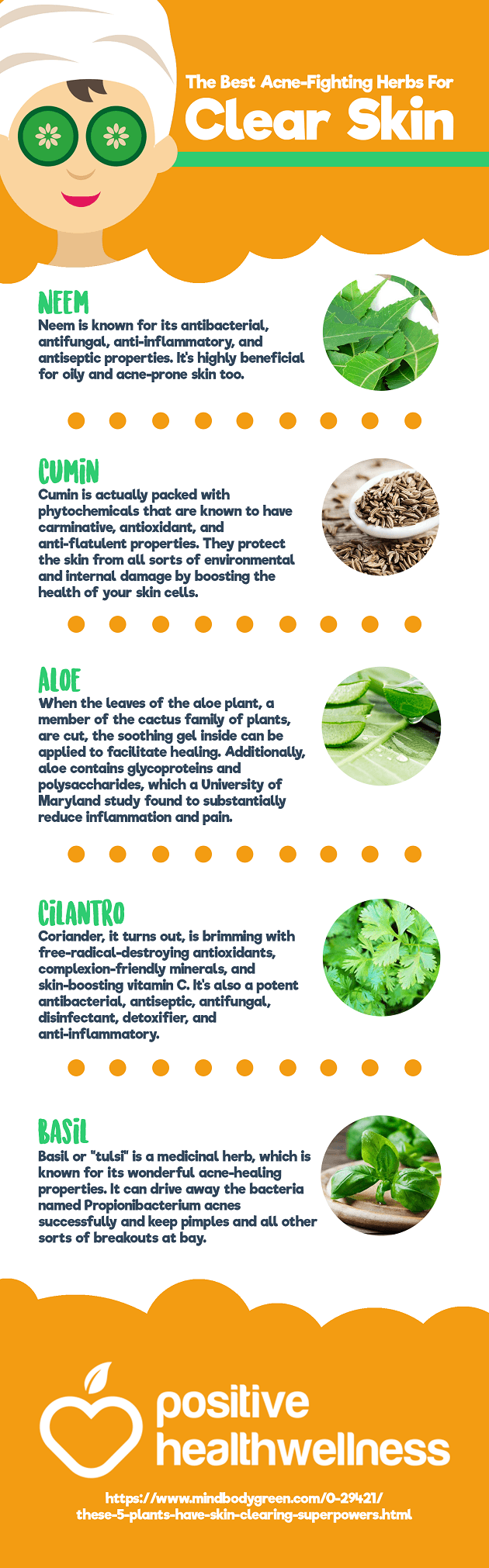 The Best Acne-Fighting Herbs For Clear Skin