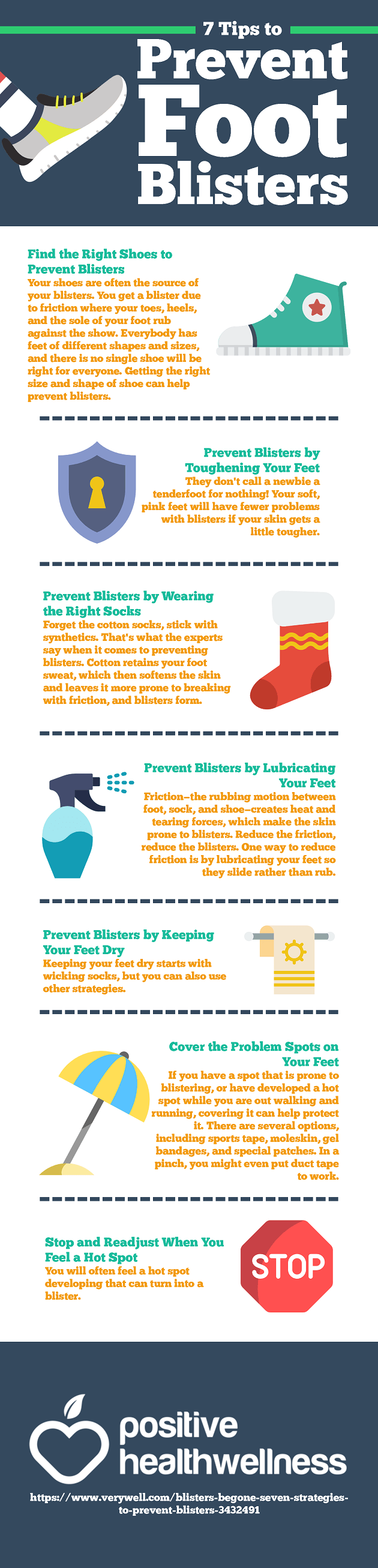 7 Tips to Prevent Foot Blisters