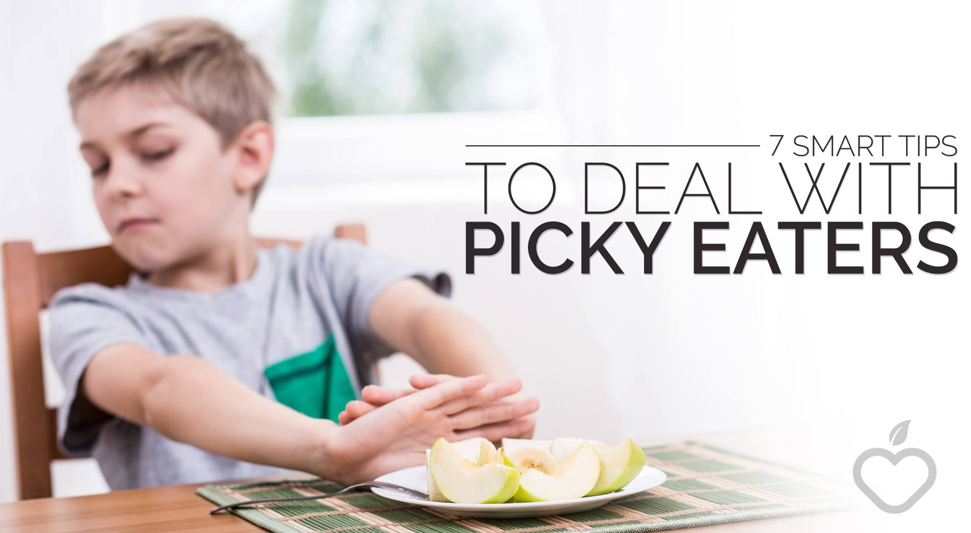 Picky Eaters Image Design 1 - 7 Smart Tips To Deal With Picky Eaters