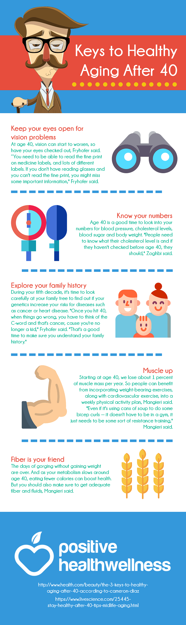 The 3 Keys To Healthy Aging After 40