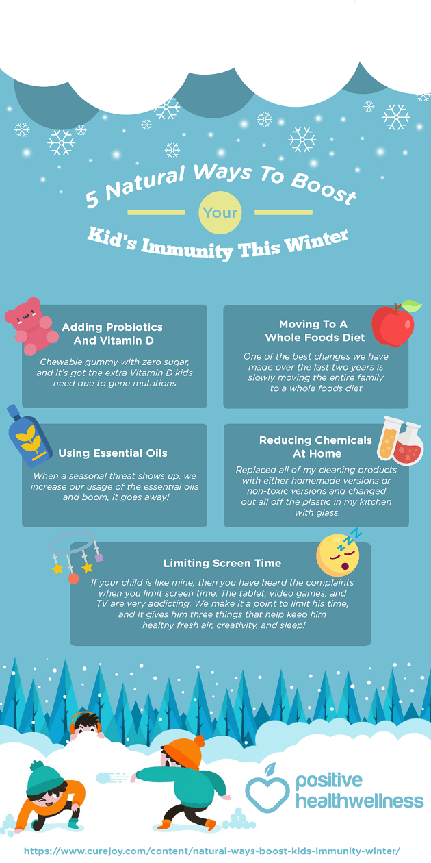 5 Natural Ways To Boost Your Kid