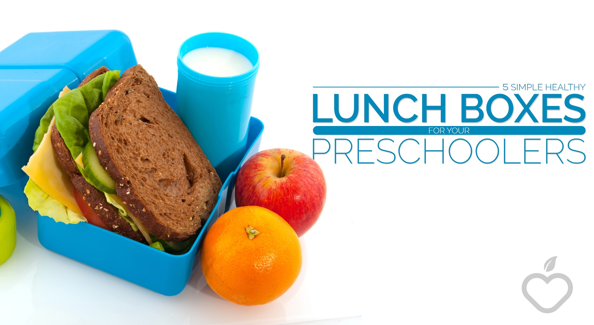 Lunch Boxes Image Design 1 - 5 Simple Healthy Lunch Boxes For Your Preschoolers