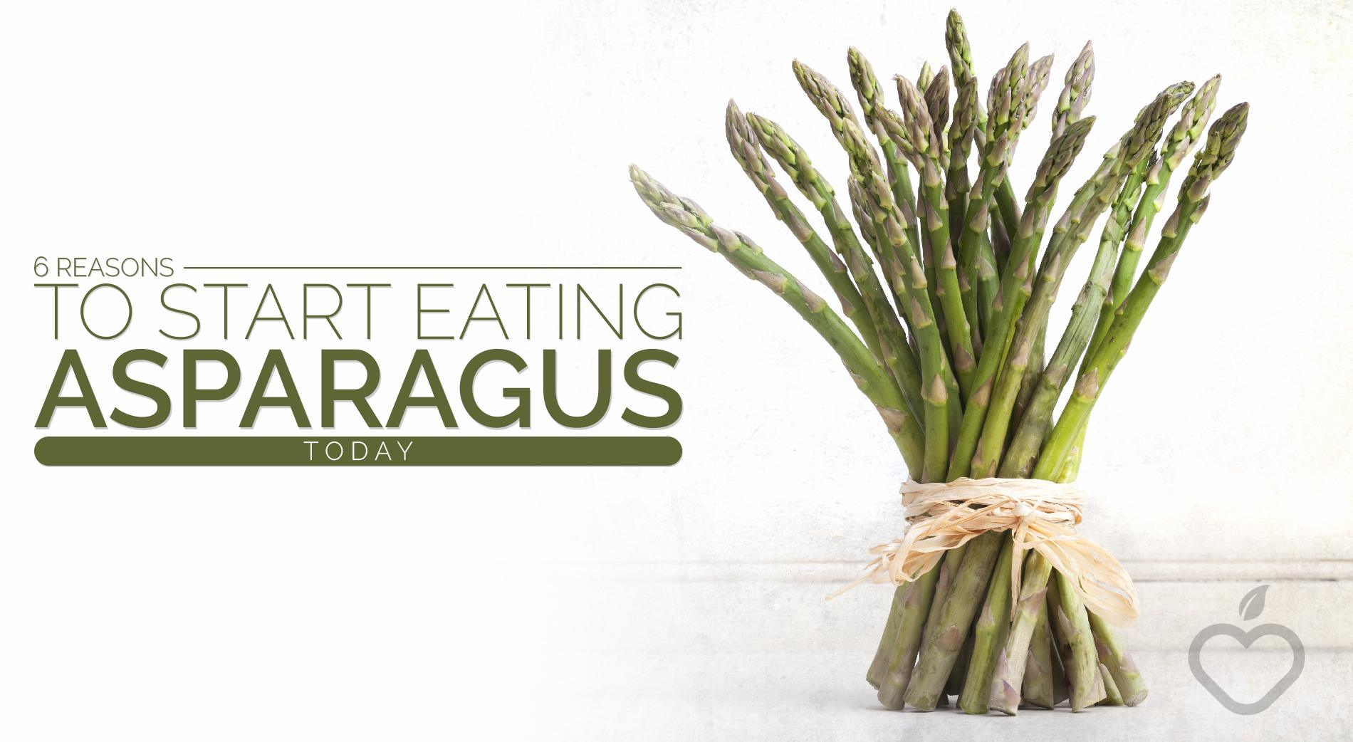 Asparagus Image Design 1 - 6 Reasons To Start Eating Asparagus Today
