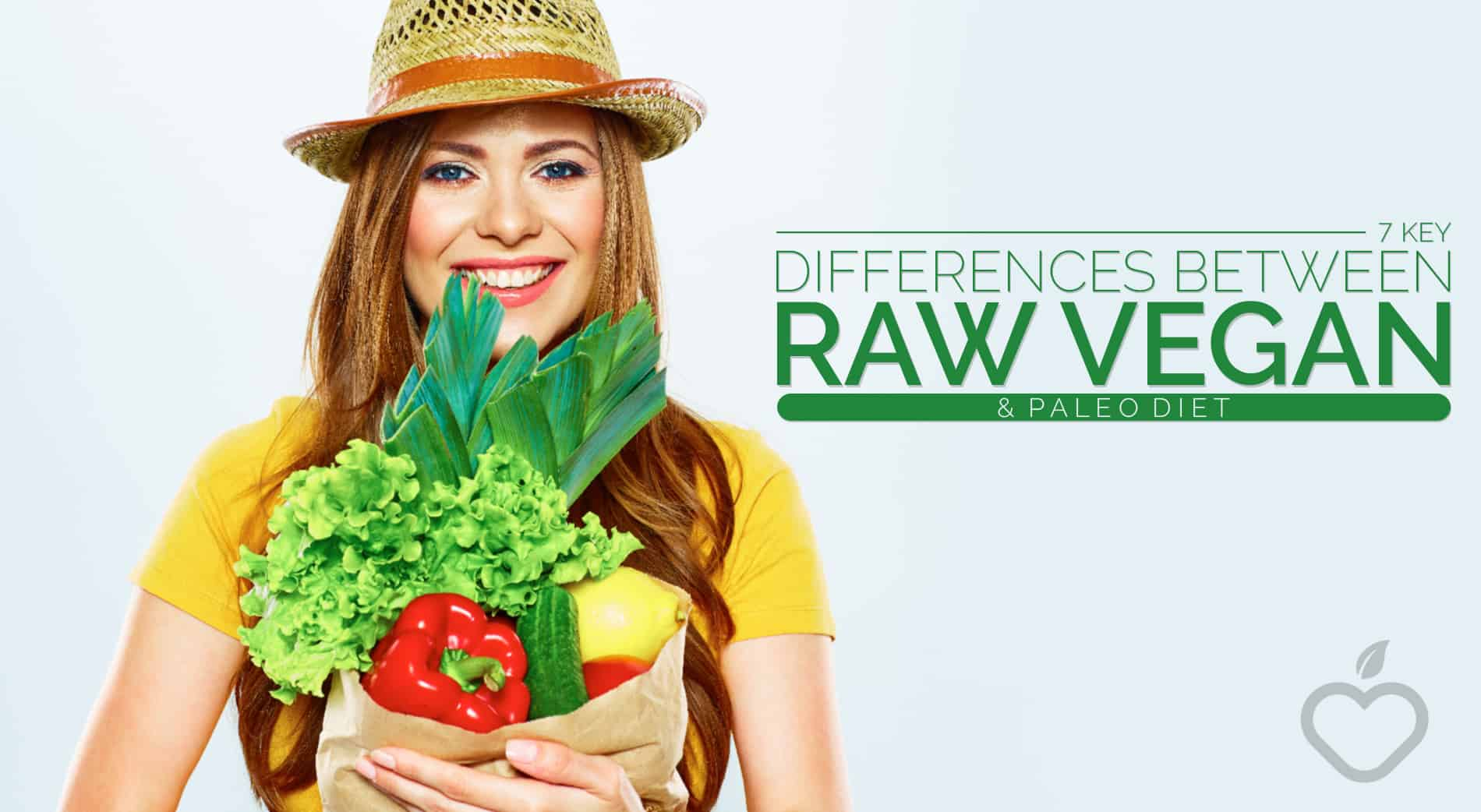 Raw Vegan Image Design 1 1 - 7 Key Differences Between Raw Vegan And Paleo Diet