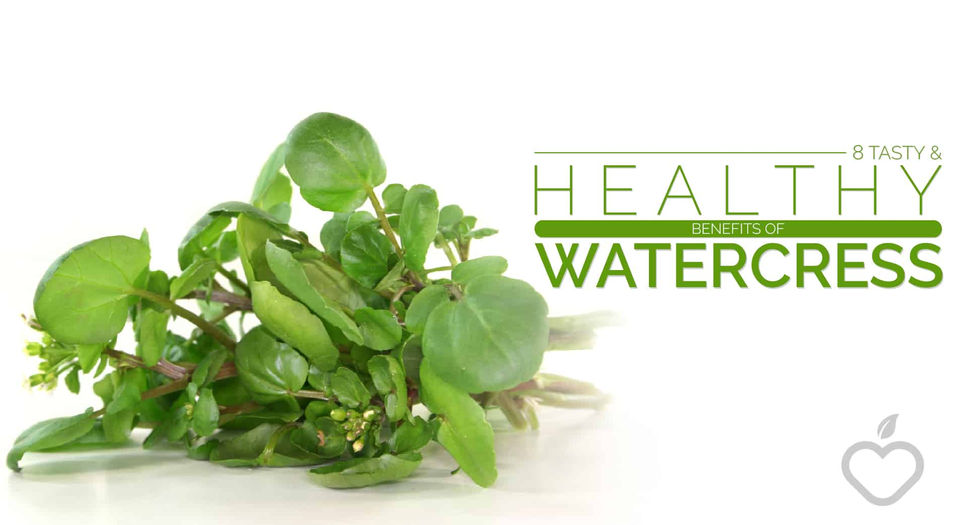 Watercress Image Design 1 - 8 Tasty And Healthy Benefits Of Watercress