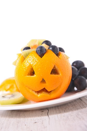 subhead 2 5 - 7 Ways To Make Fruits A Good Halloween Treat