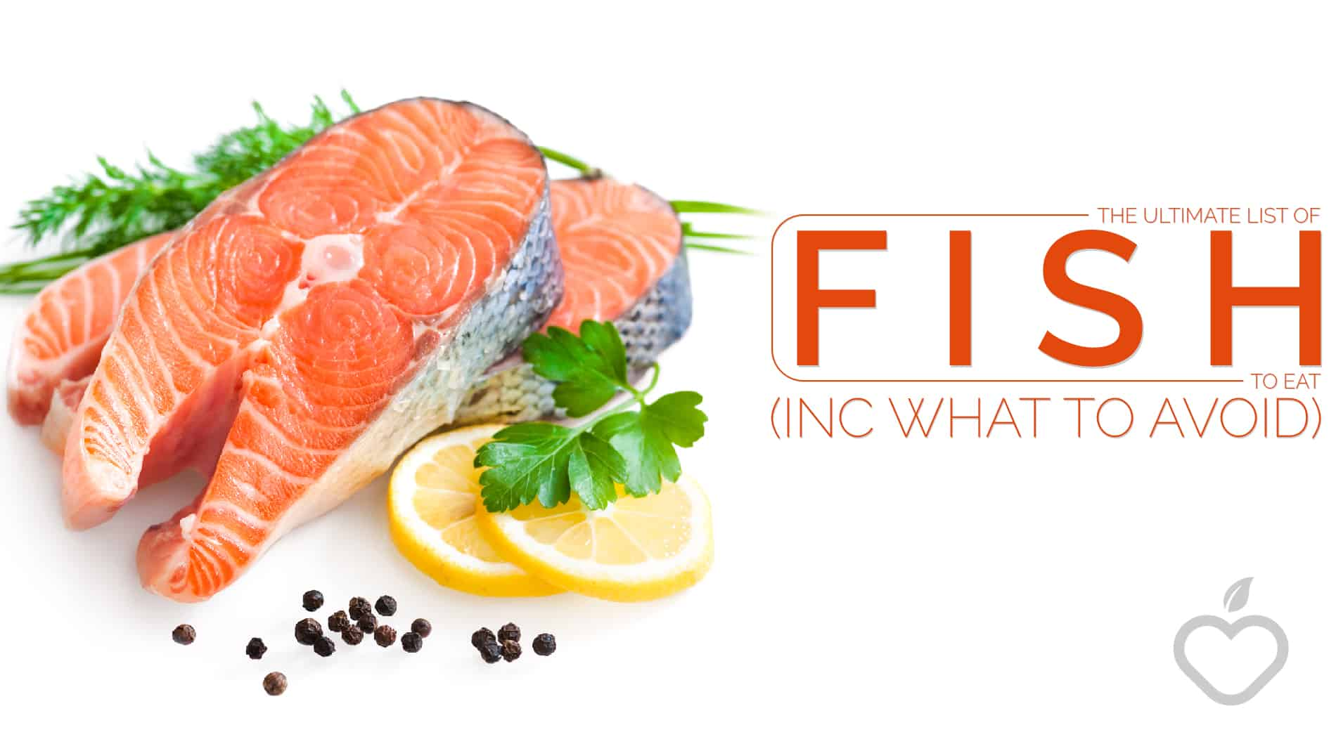 Fish To Eat Image Design 1 - The Ultimate List of Fish to Eat (Inc What to Avoid)