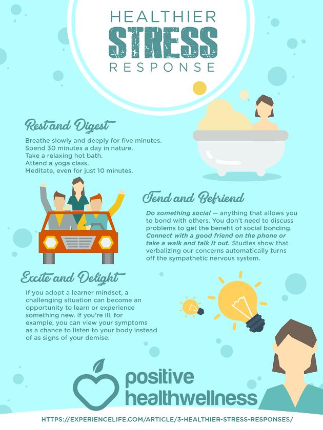 3 Healthier Stress Responses