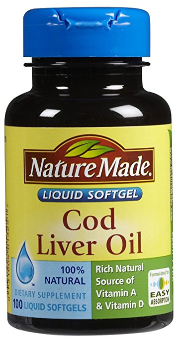 Nature Made Cod Liver Oil