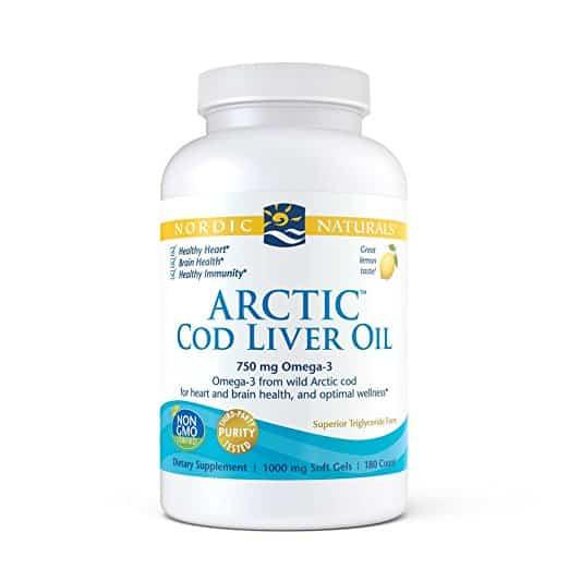 Nordic Naturals Arctic Cod Liver Oil Amazon