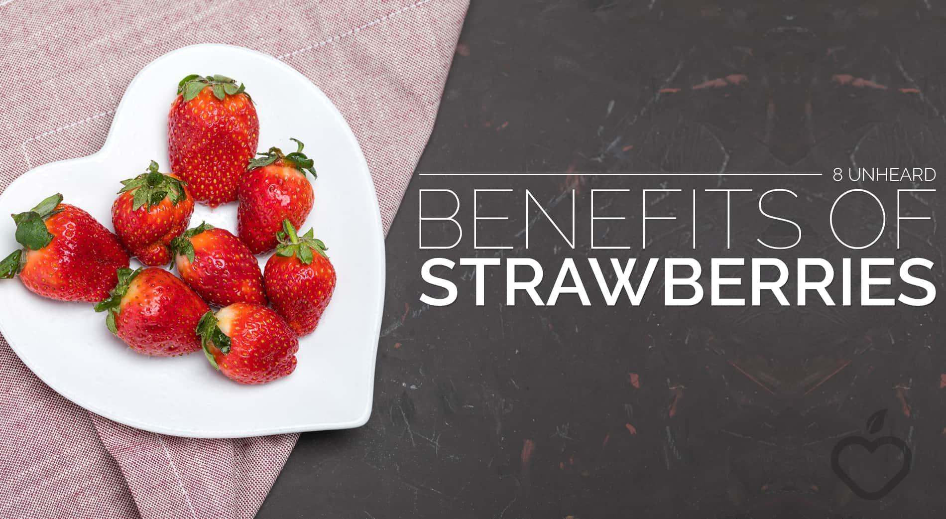 Strawberries Image Design 1 - 8 Unheard Benefits of Strawberries