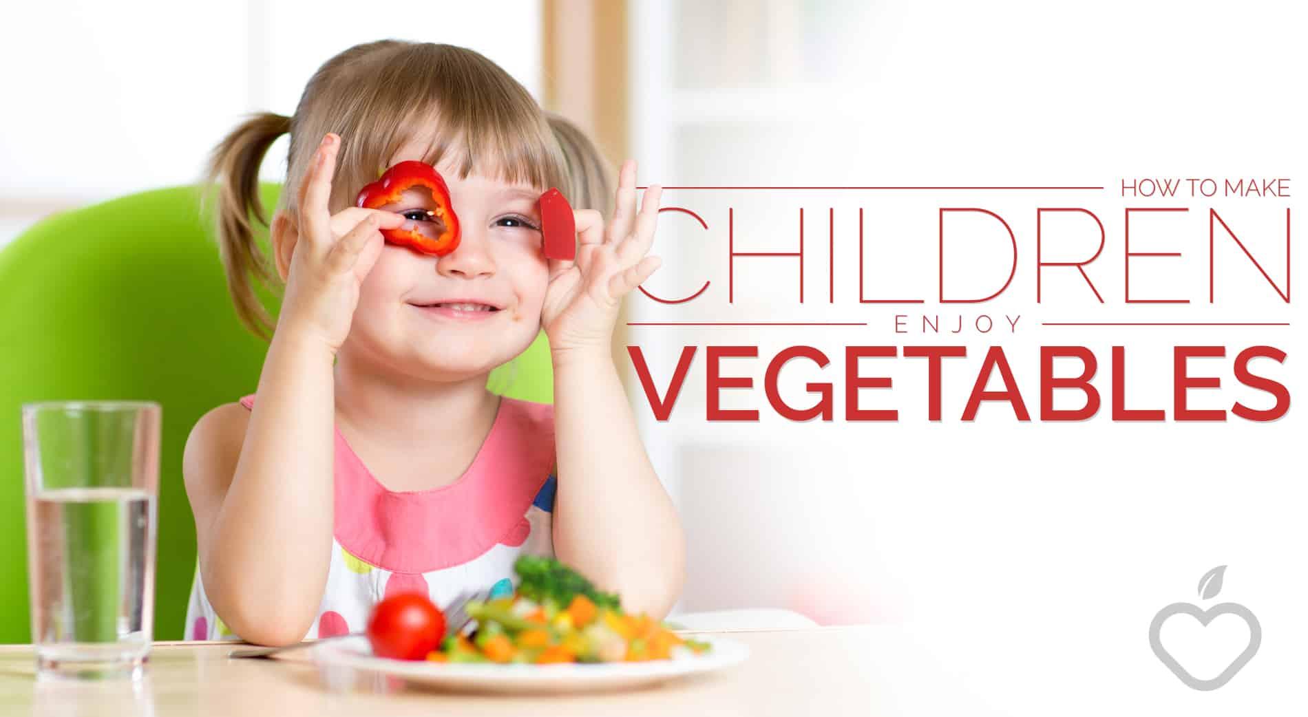 Vegetables Image Design 1 - How to Make Children Enjoy Vegetables