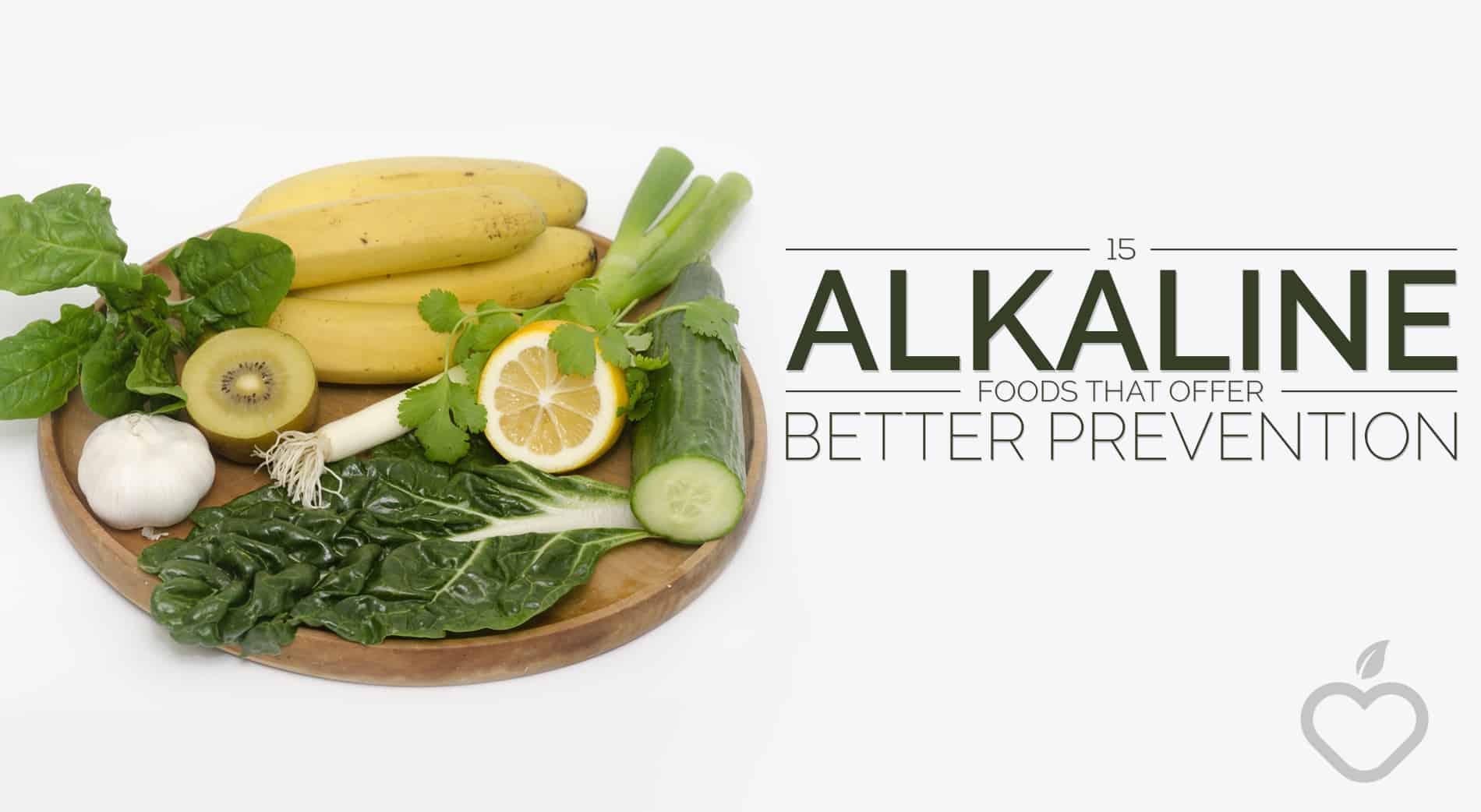 Alkaline Foods Image Design 1 - 15 Alkaline Foods That Offer Better Prevention