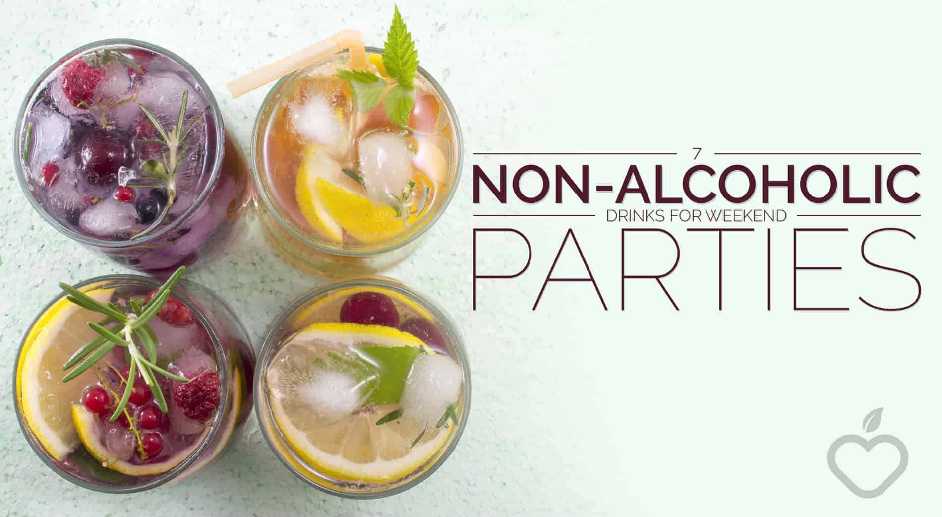 Non Alcoholic Drinks Image Design 1 - 7 Non-Alcoholic Drinks for Weekend Parties