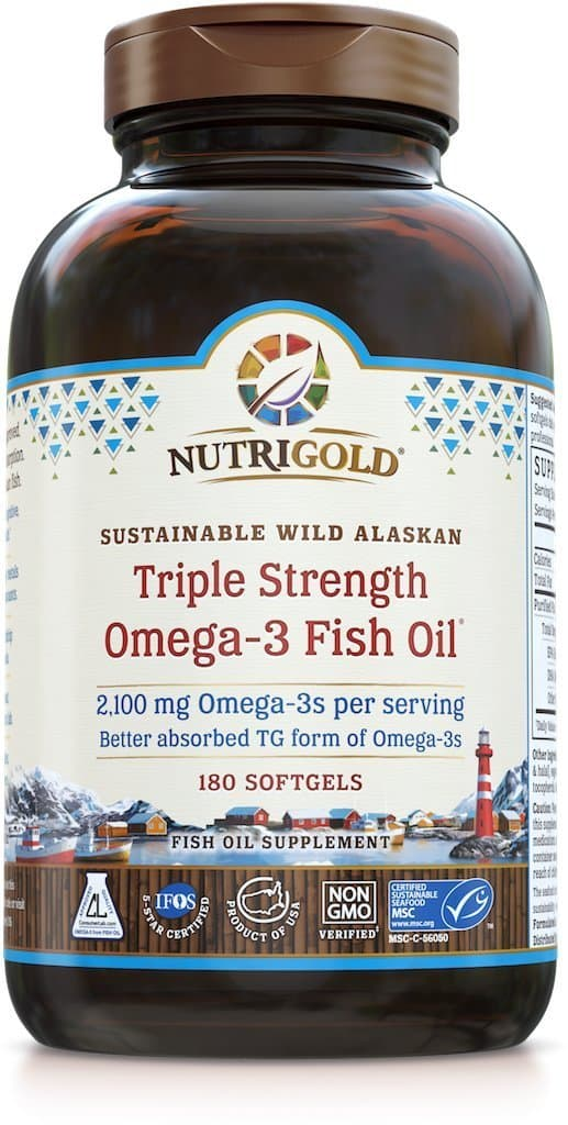 What s the best fish oil supplement for arthritis east for Viva naturals triple strength omega 3 fish oil