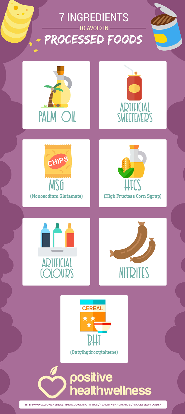 7 Ingredients To Avoid In Processed Foods