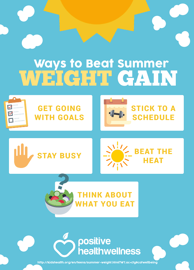 5 Ways To Beat Summer Weight Gain